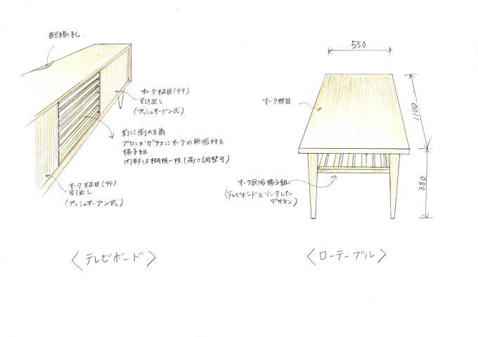 TVボード・ローテーブル